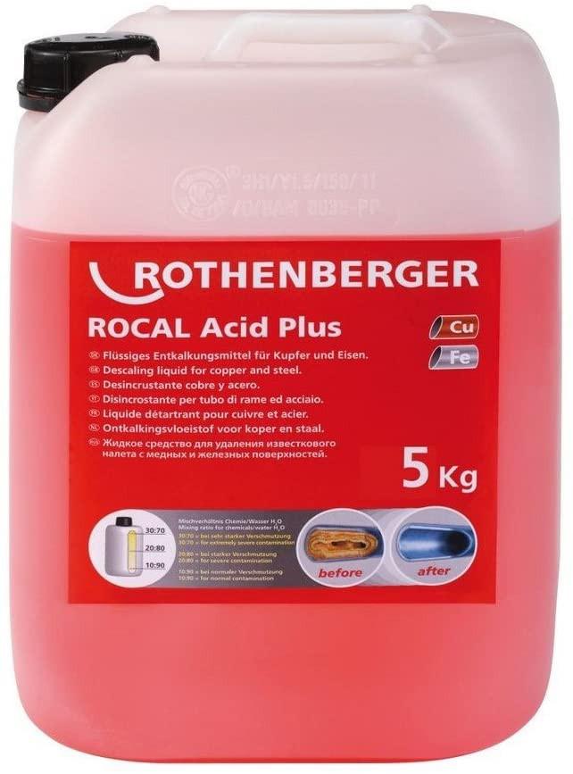 ROCAL Acid Plus, Desincrustante 5Lts