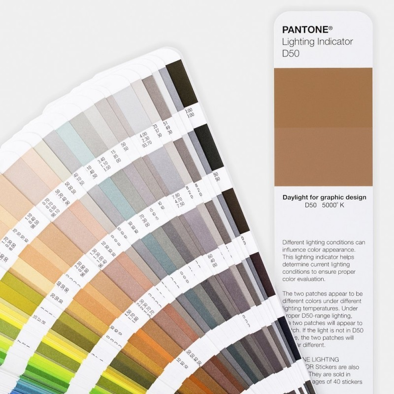 Guía pantone para diseño gráfico