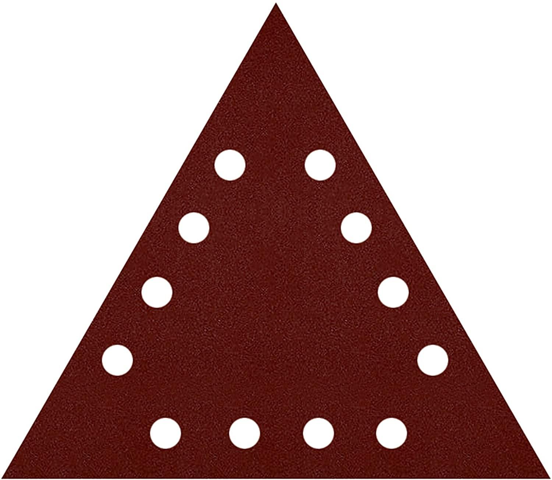 Lija velcro Grano FINO triangular 285