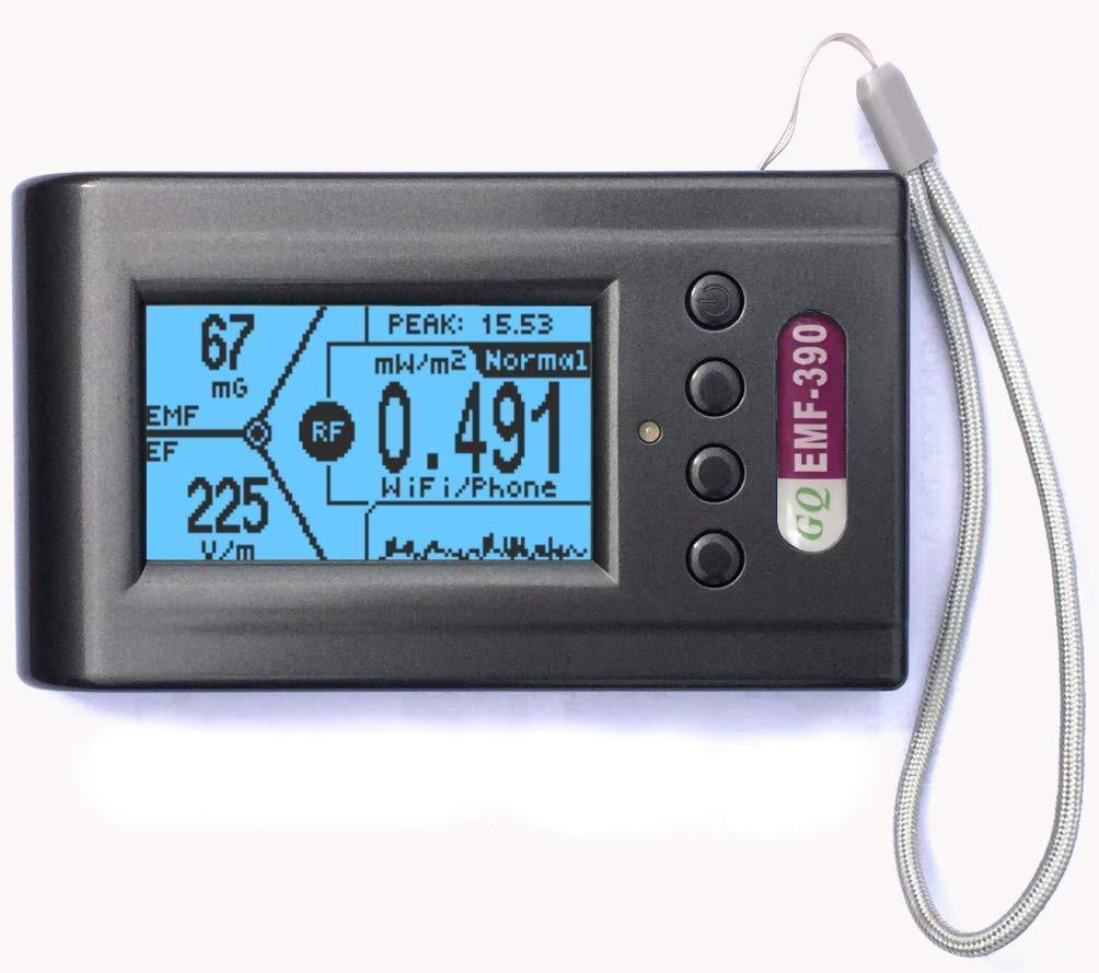 Medidor radiación antenas telefonía y cables Alta Tensión