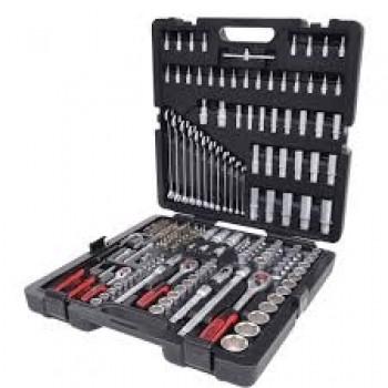 Maletín con llaves de vaso y otras herramientas 216 piezas