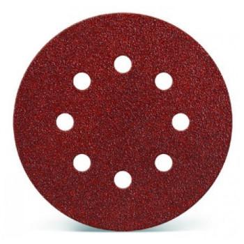 Lija velcro Grano GRUESO diámetro 125mm