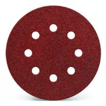 Lija velcro Grano FINO diámetro 125mm