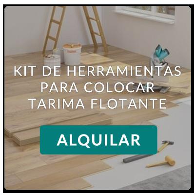 Alquiler de herramientas para colocar tarima flotante