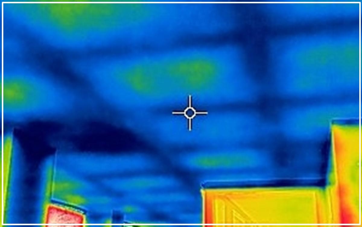 Detección de problemas de condensación con la ayuda de una cámara termográfica